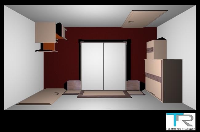 Zimmerplanung  Tischler Heinrich Rudigier
